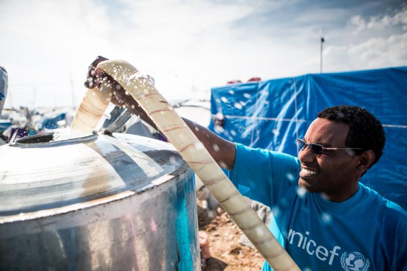 UNICEF pomoc Syria