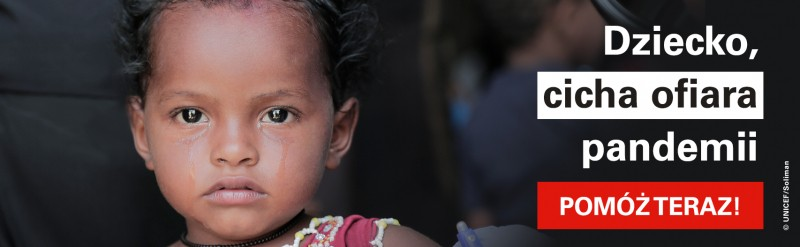 UNICEF Polska - Walka z koronawirusem