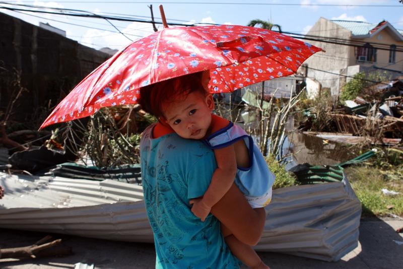 UNICEF apeluje o 34 mln USD na pomoc ofiarom tajfunu Hayian