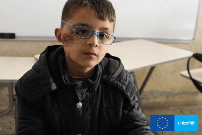 9-letni Safi Kampania UNICEF Głos Dzieci