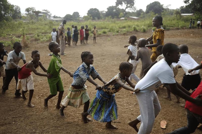 Uśmiech dzieci z Republiki Środkowoafrykańskiej