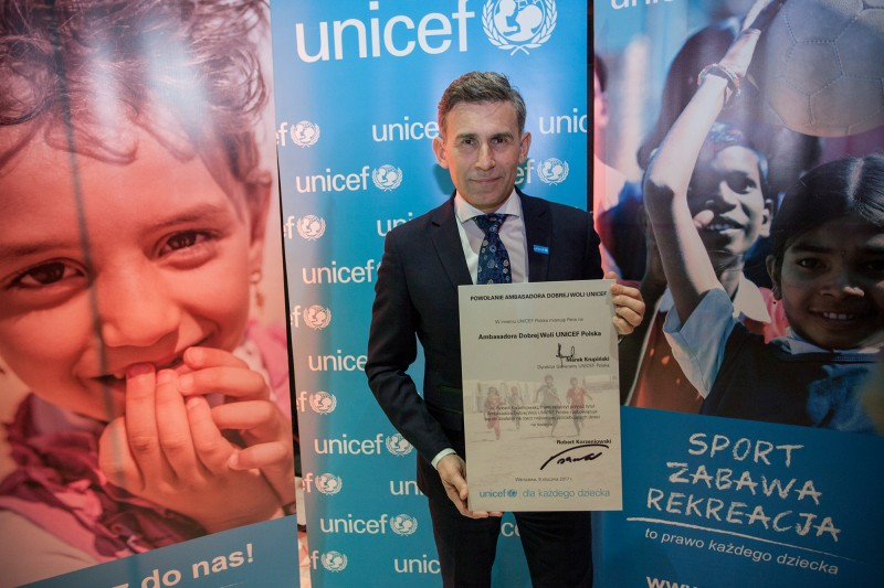 Robert Korzeniowski - Ambasador Dobrej Woli UNICEF