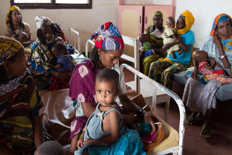 Mia Farrow - Ambasador Dobrej Woli odwiedziła w lipcu Republikę Środkowoafrykańską ost.