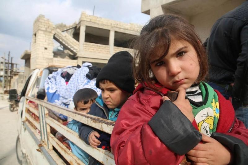 Wojna w Syrii - przesiedlenia