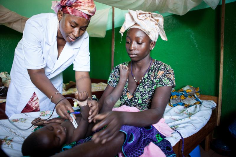 walka o zycie dzieci w Mali