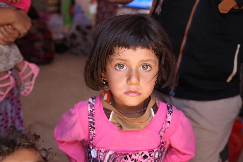 Dzieci wołają o pomoc Irak