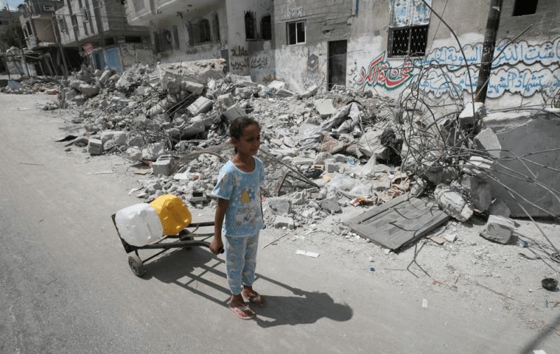 Chronimy dzieci w Strefie Gazy UNICEF