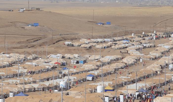 obóz dla uchodźców Irak