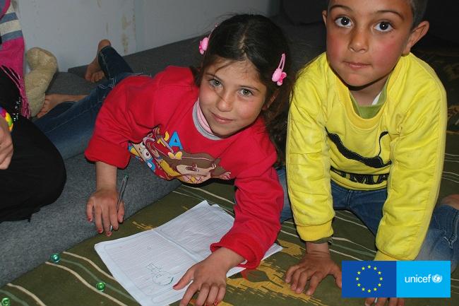 W obozie dla uchodźców Zaatari  Jordania