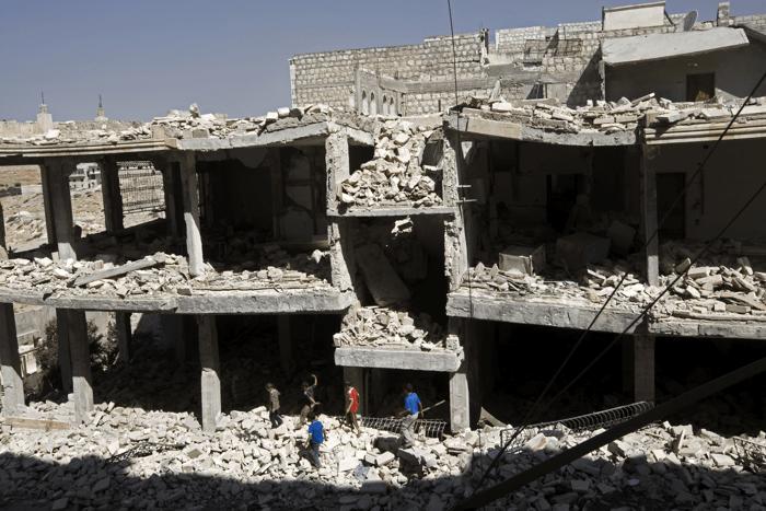 Relacjaz Syrii pracownika UNICEF