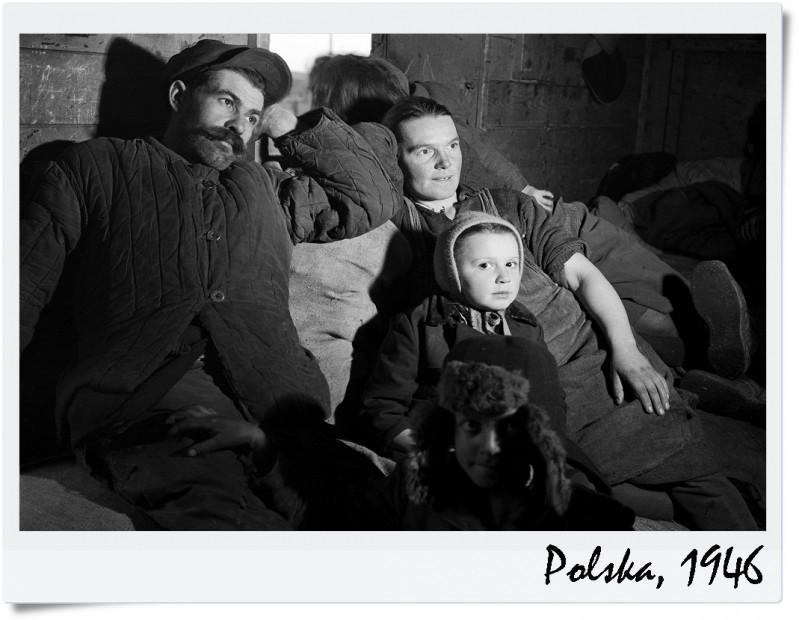 UNICEF Polska 1946 Repatrianci