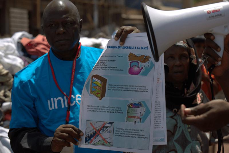UNICEF walczy z Ebolą
