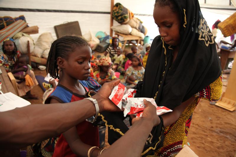 Głód zagraża dzieciom a Afryce