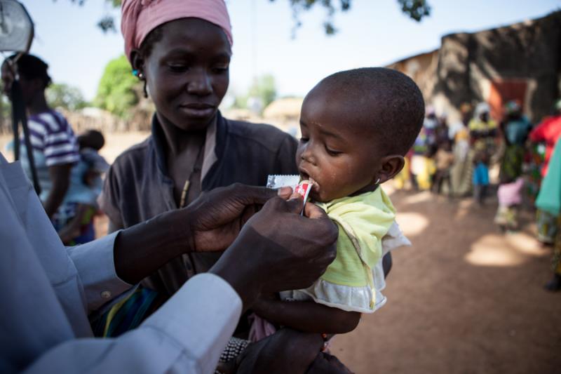 Wysoki poziom niedożywienia dzieci w Mali