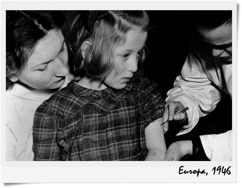 szczepienia, kiedys