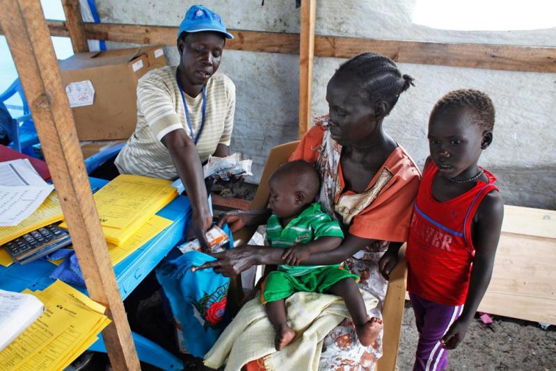 W Sudanie Południowym trwa największy obecnie kryzys żywnościowy