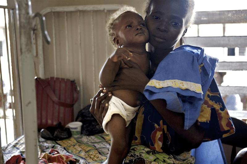 Poziom niedożywienia dzieci w Republice Środkowoafrykańskiej jest wciąż alarmująco wysoki.