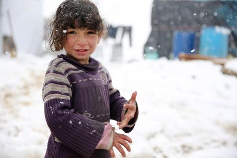 UNICEF Polska - Spraw, aby dzieci z Syrii przetrwały zimę