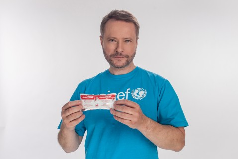 Artur Żmijewski, Ambasador Dobrej Woli UNICEF