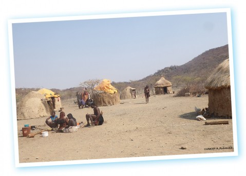 UNICEF Polska - Podróże z UNILUDKIEM - Namibia