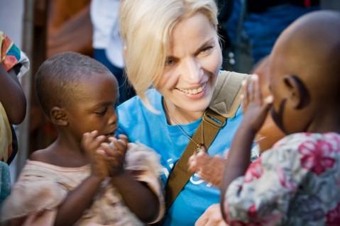 Małgorzata Foremniak - Ambasador Dobrej Woli UNICEF
