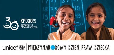 UNICEF Polska - Międzynarodowy Dzień Praw Dziecka z UNICEF