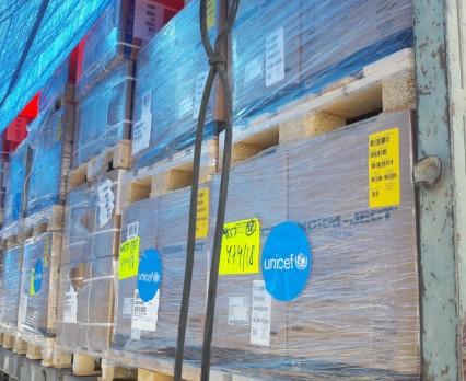 UNICEF dostarcza pilnie potrzebne leki i środki medyczne dla 70 000 osób w Strefie Gazy
