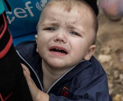 Ponad pół miliona dzieci na Ukrainie zostało poszkodowanych w rejonie konfliktu