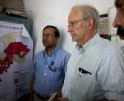 Dyrektor Generalny UNICEF Anthony Lake z wizytą w Pakistanie