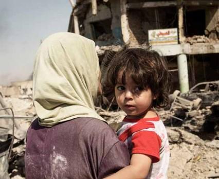 Dramatyczna sytuacja dzieci w Ar-Rakka i Mosulu