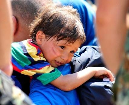 UNICEF apeluje o wsparcie dla dzieci uchodźców imigrantów w Europie