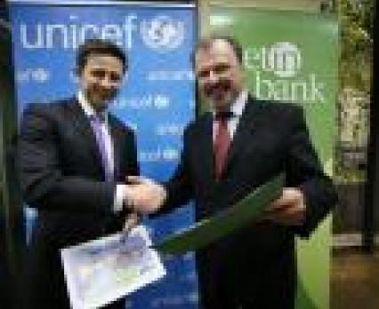 GETIN Bank wspiera UNICEF Polska