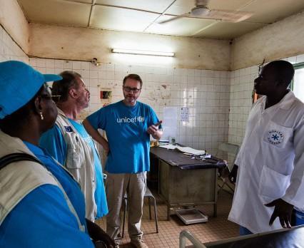 Z wizytą w Centralnym Ośrodku Zdrowia w Sikasso