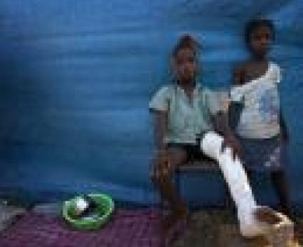 UNICEF przygotowuje program długofalowej pomocy dla Haiti