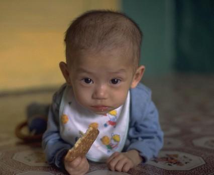 Życie dzieci w Korei Północnej zagrożone z powodu suszy