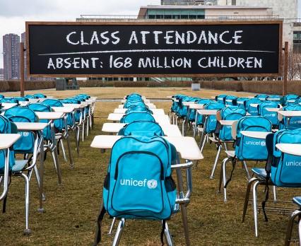 COVID-19: 168 mln dzieci na świecie od niemal roku ani razu nie poszło do szkoły