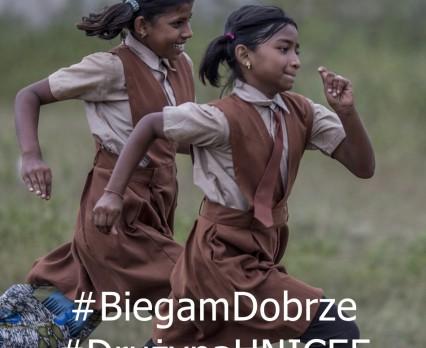 #BiegamDobrze z Drużyną UNICEF