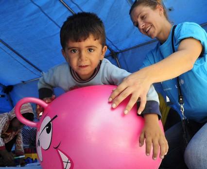 UNICEF: 3 000 uchodźców dziennie przekracza granicę grecko-macedońską