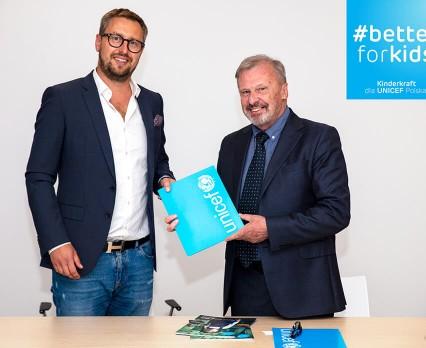 Kinderkraft łączy siły z UNICEF Polska