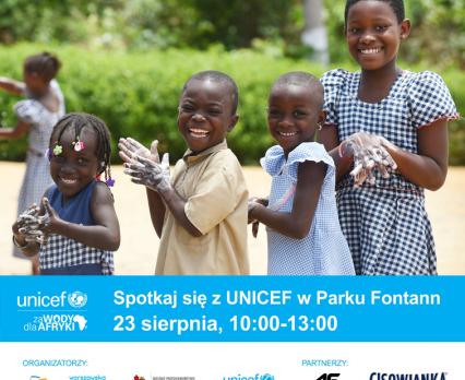 Wielkie wydarzenie dla dzieci w Warszawie - 26 pomp wodnych dla Afryki od 4F i Cisowianki