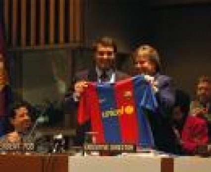 FC Barcelona i UNICEF łączą siły w globalnej współpracy na rzecz dzieci