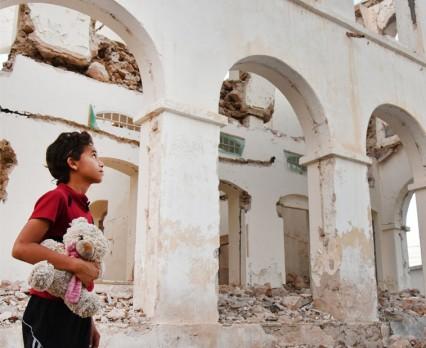 1 na 9 dzieci żyje na obszarach ogarniętych wojną