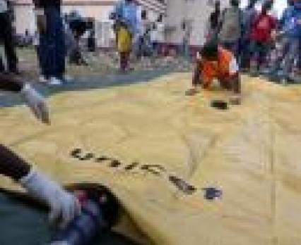 Kolejny transport UNICEF dotarł do Port-au-Prince