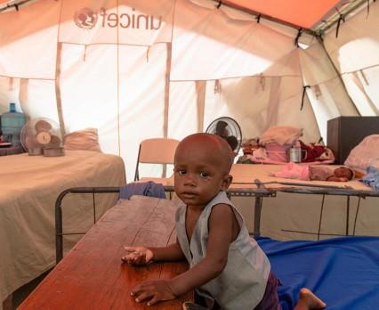 UNICEF niesie pomoc mieszkańcom Haiti