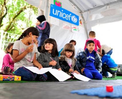 UNICEF zwiększa pomoc dla dzieci uchodźców i migrantów w Chorwacji