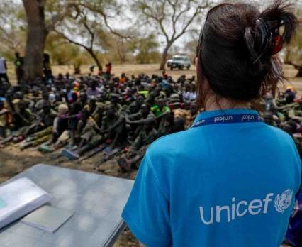 UNICEF pomógł w uwolnieniu 145 dzieci-żołnierzy w Sudanie Południowym
