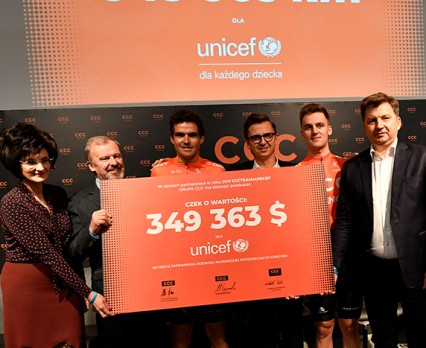 UNICEF - Świętujemy rok partnerstwa z CCC