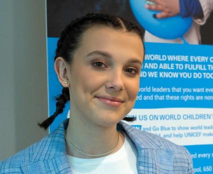 Millie Bobby Brown najmłodszym Ambasadorem Dobrej Woli UNICEF w historii