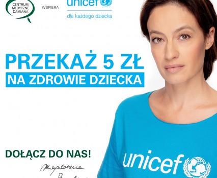 """Centrum Medyczne Damiana rozpoczyna VI edycję akcji """"5 złotych na zdrowie dziecka"""" na rzecz UNICEF"""