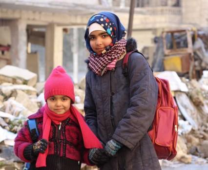 Dzieci w Aleppo wracają do szkół